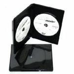 BOX na 2*DVD / černý - 1ks
