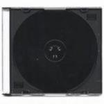 Krabička Slim na 1*CD / černá - 1ks