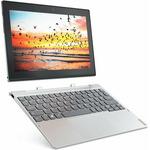 Lenovo Miix 320-10ICR stříbrná / 10.1 FHD / Atom x5-Z8350 1.44GHz / 4GB / 128GB SSD / Intel HD / 5MP+2MP / Win10P (80XF008JCK)