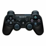 Sony Dualshock Wireless Controller / Gamepad / PS3 / �ern�