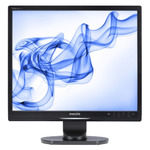 "19"" LCD PHILIPS 19S1SB / LCD / 1280 x 1024 / TN / 5:4 / 5ms / 25000:1 / 250cd/m2 / VGA / DVI-D / VESA / �ern�"