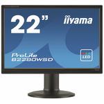 22 IIYAMA B2280WSD-B1 / 5ms / 250cd-m2 / 16:10 / 1000:1 / VGA / DVI / repro / pivot / výšk.nastav. /černý (B2280WSD-B1)