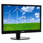 21.5 PHILIPS 221S6LCB / LED / 1920 x 1080 / LCD TFT / 16:9 / 5ms / 20mil:1 / 250cd-m2 / VGA+DVI / VESA / Pivot / Černý (221S6LCB/00)
