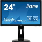 24 IIYAMA ProLite XB2472HSUC-B1 černá / VA / FHD / 8ms / 250cd-m2 / DVI / VGA / DP / USB (XB2472HSUC-B1)