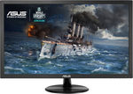 21.5 ASUS VP228TE / LED / FHD 1920 x 1080 / 16:9 / 1 ms / 200 cd / 100M:1 / D-Sub+DVI-D / VESA / černá (90LM01K0-B03170)