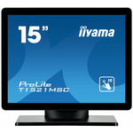 15 IIYAMA ProLite T1521MSC-B1 T / 1024x768 / 8ms / 350cd / VGA / USB / repro / IP54 / černý (T1521MSC-B1)