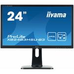 24 IIYAMA ProLite XB2483HSU-B3 / AMVA+ / 1920x1080 / 3000:1 / 250cd / 4ms / VGA+HDMI+DP / VESA (XB2483HSU-B3)