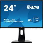 24 IIYAMA ProLite XUB2495WSU-B1 / IPS / 1920x1200 / 1000:1 / 300cd / 5ms / VGA+HDMI+DP / VESA (XUB2495WSU-B1)