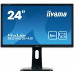 24 IIYAMA ProLite B2482HS-B1 / TN / FHD / 5ms / 250cd-m2 / DVI-D / VGA / HDMI (B2482HS-B1)