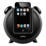 EDIFIER iF200 / budík / podpora iPod playlistu / dokovací stanice pro iPod / černý (iF200Plus)