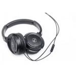 AUDIO-TECHNICA ATH-WS55IBK / uzavřená sluchátka / 3,5 mm jack / černá (ATH-CKS55IBK)