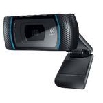 Logitech WebCam HD B910 / Web kamera / USB / 5MPx / Černá (960-000684)