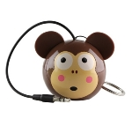 KitSound Mini Buddy Monkey reproduktor / Jack 3,5 mm (KSMBMKY)