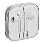 Apple HF EarPods iPhone 5 MD827ZM/A stereo / sluchátka / OEM / bílá (100490)