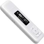 Transcend MP3 Přehrávač 8GB T-Sonic 330 / flash / USB / bílá (TS8GMP330W)