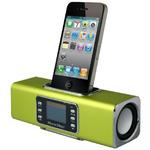Technaxx MusicMan BTX1 / Přenosný Bluetooth Stereo reproduktor / 600 mAh / Displej / USB / až 12h / Zelená (3804)