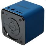 Technaxx Mini MusicMan X2 / Přenosný reproduktor / baterie 600 mAh / USB / microSD / až 8h / Modrý (3530)