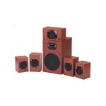 GENIUS SW-HF5.1 4600 / Repro / 5.1 / 125W / LED displej / dálkové ovládání / dřevěné (31731028100)