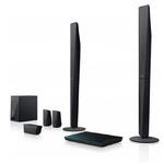 Sony Blu-Ray domácí kino BDV-E4100 / Full HD / 3D / 5.1 / 1000W / WiFi / BT / NFC / LAN / černá