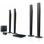 Sony Blu-Ray domácí kino BDV-E6100 / Full HD / 3D / 5.1 / 1000W / WiFi / BT / NFC / LAN / černá (BDVE6100.CEL)