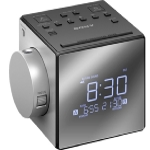 SONY radiobudík ICF-C1PJ / duální alarm / projekce / LCD displej / digitální FM, AM tuner / stříbrná (ICFC1PJ.CED)