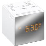 SONY radiobudík ICF-C1T / duální alarm / LCD displej / digitální FM, AM tuner / bílá (ICFC1TW.CED)