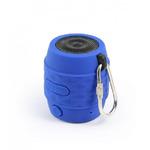 Technaxx MusicMan BT-X11 / Přenosný Bluetooth reproduktor Nano / voděodolný / 300 mAh / Modrý (4464)
