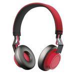 JABRA headset MOVE Wireless / Hi-Fi / Bluetooth / DSP s automatickou regulací hlasitosti / červená (100-96300002-60)