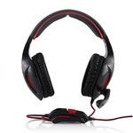 Modecom MC-830 PATRIOT / sluchátka s mikrofonem / uzavřená / černá (S-MC-830-PATRIOT)