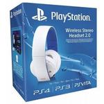 PS4 - Wireless Stereo Headset 2.0 / bezdrátová sluchátka / 7.1 / mikrofon / box / bílý (PS719856634)