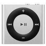 APPLE iPod Shuffle / 2GB / MP3 přehrávač / bílo-stříbrný (MKMG2HC/A)