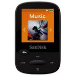 SanDisk Clip Sport 4GB / MP3 Přehrávač / LCD 1.44 / microSDHC / micro USB / rádio / černý (SDMX24-004G-G46K)