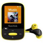 SanDisk Clip Sport 8GB / MP3 Přehrávač / LCD 1.44 / microSDHC / micro USB / rádio / žlutý (SDMX24-008G-G46Y)