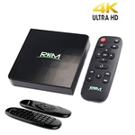 Rikomagic MK06 4K Media Hub + MK706 air mouse / Q-C 2GHz / 1GB / 8GB eMMC / WiFi / BT / Android 5.1 / černá (UMNP00225)