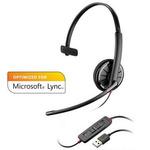 Plantronics BLACKWIRE C310-M / náhlavní souprava na jedno ucho se sponou / Microsoft / USB / černá (85618-01)
