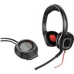 Plantronics Gamecom D60 / Herní sluchátka s mikrofonem s multifunkčním ovladačem / černá (203082-05)