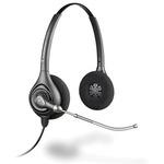 Plantronics SupraPlus HW261 / náhlavní souprava na obě uši se sponou / USB / černá (36830-41)