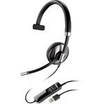Plantronics BLACKWIRE C710 / náhlavní souprava na jedno ucho se sponou / USB / černá (87505-02)