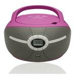 BLAUPUNKT BB6VL / Rádiomagnetofon / FM PLL / CD / MP3 / USB / fialový (BB6VL)