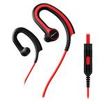 Pioneer SE-E711T-R / Sluchátka s mikrofonem / 3.5mm jack / červená (SE-E711T-R)