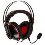 ASUS CERBERUS V2 herní sluchátka červená / 3.5mm jack + 1.2m kabel + 1.3m splitter / PC + Mac + Mobil + PS4 (90YH015R-B1UA00)