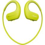 SONY MP3 přehrávač NW-WS623 limetová / 4GB / USB / Bluetooth / NFC / Vodotěsnost / sluchátka / IP68 (NWWS623G.CEW)