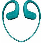 SONY MP3 přehrávač NW-WS623 modrá / 4GB / USB / Bluetooth / NFC / Vodotěsnost / sluchátka / IP68 (NWWS623L.CEW)