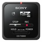 SONY ICD-TX800B černá / digitální diktafon / OLED display / 16GB / USB (ICDTX800B.CE7)