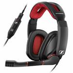 SENNHEISER GSP 350 / Gaming headset - oboustranná sluchátka s mikrofonem / ovládání hlasitosti / USB / 2.5m (507081)