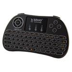 SAVIO KW-01 bezdrátový ovladač s klávesnicí / Android TV Box / Smart TV / PS3 / XBOX360 / PC (KW-01)
