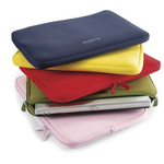 Dicota Perfect Skin pouzdro pro notebooky do 15,4 / neopren / růžové (N19628N)