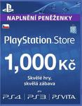 SONY PlayStation Live Cards CZK1000 (PS719238997)