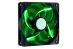 Cooler Master SickleFlow 120 LED Green / 120 mm / Sleeve Bearing / 19 dB @ 2000 RPM / 3-pin (R4-L2R-20AG-R2)