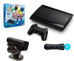 SONY PlayStation 3 Slim New - 12GB + Playstation MOVE + Camera + Sports Champions 2